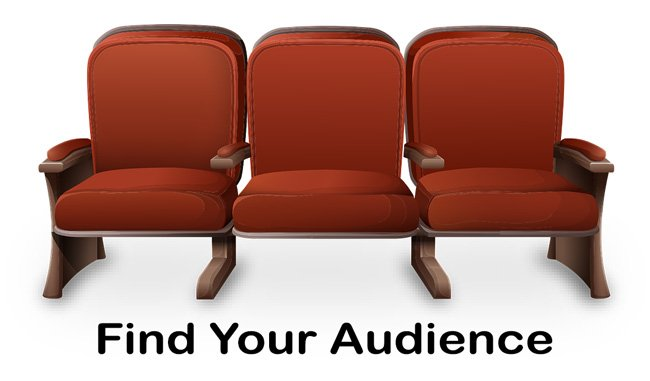 How to find your audience.